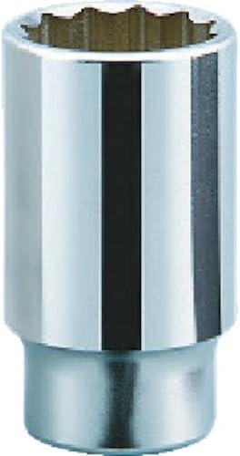 KTC(ケーテーシー) 19.0mm (3/4インチ) ディープソケット (十二角) 24mm B4524