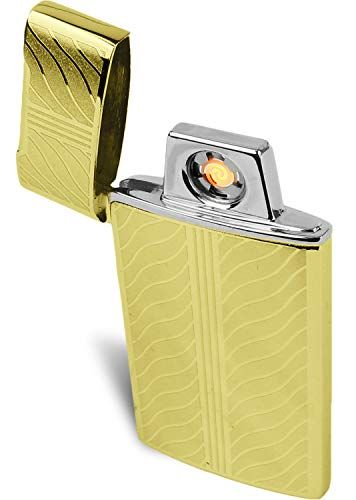 Electric Flameless Coil Lighter - Windproof USB Rechargeable