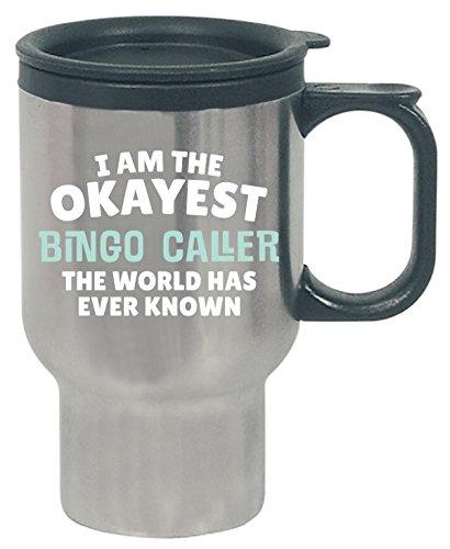 Gift For Bingo Caller Work Job Coworker Present - Travel Mug -