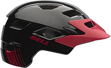 BELL Side Track y MIPS Junior Bicicleta Casco – Black Red Echo