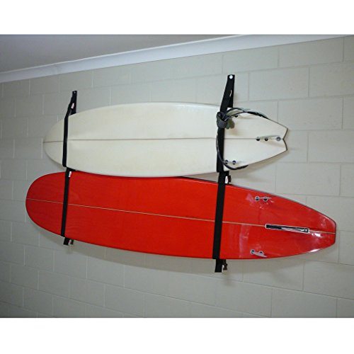 Labu Store Polyester Surfboard Longboard Sling Wall Storage Strap Garage Hanger for Surf Surfing Body Board Accessories by Labu Store
