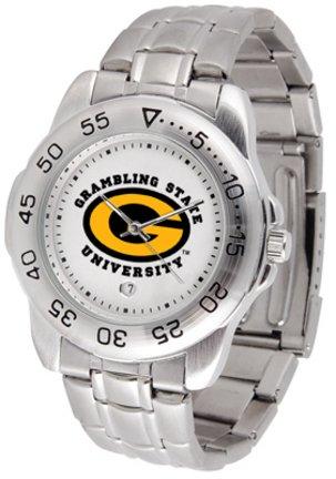 Watch Steel Sport Tigers State (Grambling State Tigers Sport Steel Band Men's Watch)
