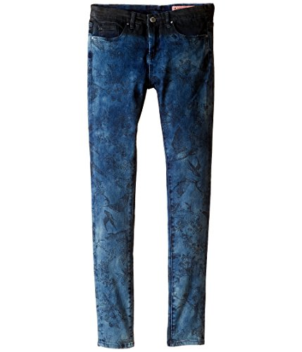 Price comparison product image Blank NYC Kids Girl's Denim/Black Novelty Jeans in Dreamweaver (Big Kids) Dreamweaver Jeans 14 Big Kids