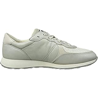 ECCO Women Low-Top Grey Size: 7 UK