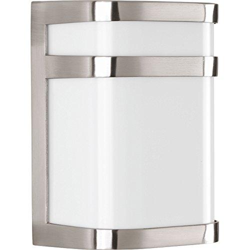 Fixed 1 Light - Progress Lighting P5800-0930K9 Valera LED One-Light Linear Lantern, Brushed Nickel