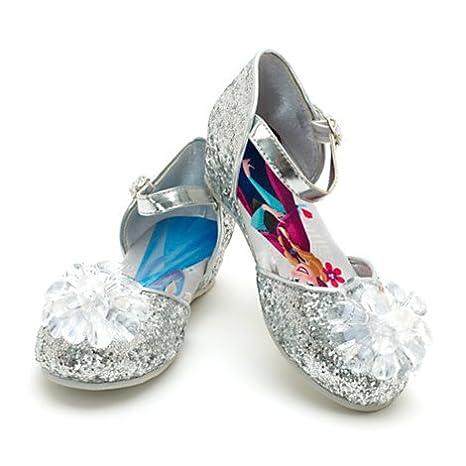 Disney - Die Eiskönigin - völlig unverfroren - Elsa, Anna Glitzerschuhe für Kinder (Kids Schuhgröße EU 28 .... UK 10)