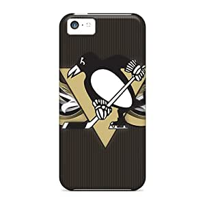 Fashionable PxKkhKn8092CeIMI Iphone 5c Case Cover For Pittsburgh Penguins Protective Case