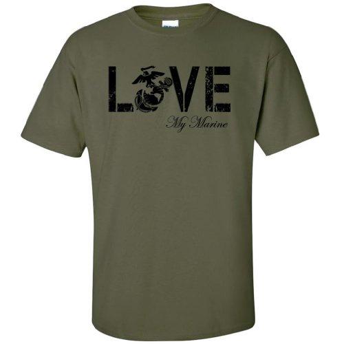 LOVE my Marine Short Sleeve Tee in Military Green - Small