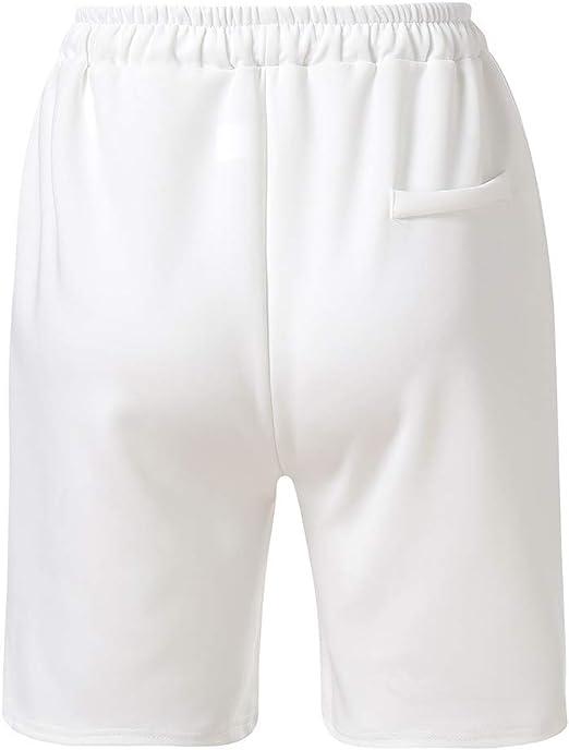 TIFIY Homme Bermuda Short de Sport Couture /à Rayures Jogging Baggy Cargo Pantalon