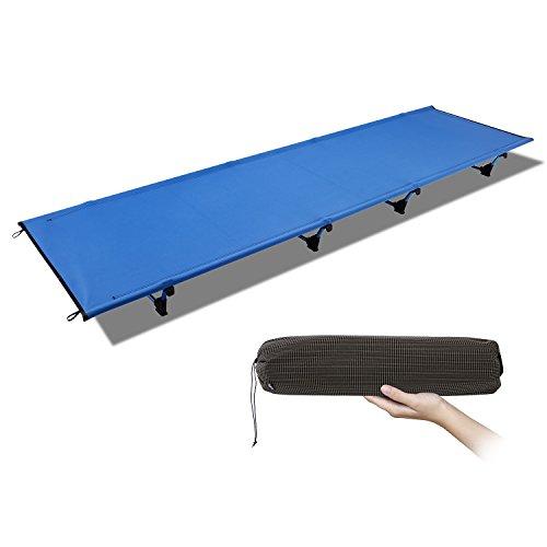 Ultralight Portable Folding Camping Cot, Alumin...