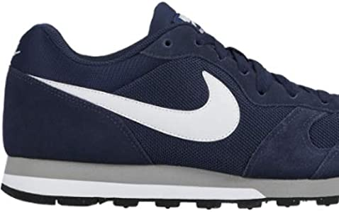 Nike MD Runner 2, Baskets mode homme Bleu (Midnight