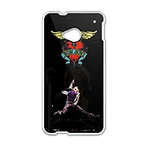 Zero Bon Jovi Heart And Dagger Logo Cell Phone Case for HTC One M7