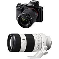 Sony a7K Full-Frame Interchangeable Digital Lens Camera with 28-70mm Lens w/ 70-200mm
