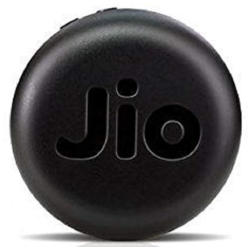 JioFi 4 4G Hotspot JMR1140 150 Mbps Jio 4G Portable Wi Fi Data Device Router  Black  Routers