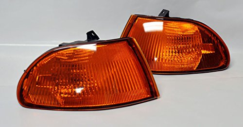 (CPW (tm) 92-95 Honda Civic 4dr JDM Style Amber Corner Lights - New Pair)