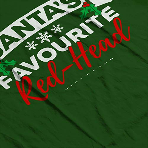 Christmas Coto7 Women's Santas Bottle Sweatshirt Favourite Redhead Hooded Green rz6tzv