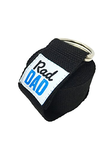 Saturday Sale Buy One Get One RDB Fitness Premium Soft Cotton Yoga Strap (8 ft) w/ Adjustable D-Ring Buckle for Stretching, Physical Therapy