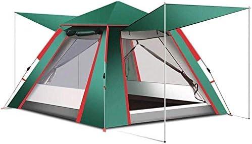 Stal Outdoor Camping Easy Up, Pop Up Tent 4 Person, Familie for kamperen, wandelen 240cm * 240cm * 154cm, eenvoudig te installeren Draagbaar