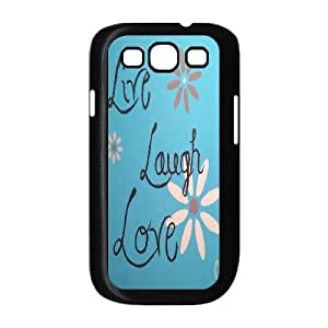 DIY High Quality Case for Samsung Galaxy S3 I9300, Live, love, laugh Phone Case - HL-506890