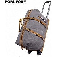 New High-Grade Lightweight Wheeled Seater Pull Rod Travel Luggage Boarding Box Draw-bar Unisex Travel Duffle Luggage Bag