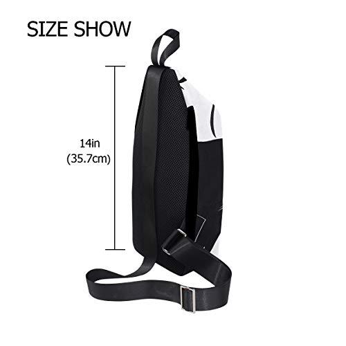 Shark Men Crossbody Bags Shoulder One Sling Bag Women Bennigiry For Chest White amp; Backpack PwqFc5S