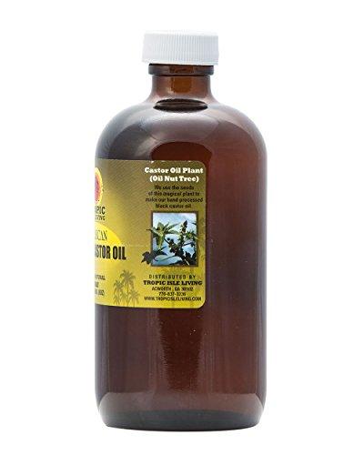 Tropic Isle Living Jamaican Black Castor Oil 8 oz - Glass Bottle by Tropic Isle Living (Image #2)