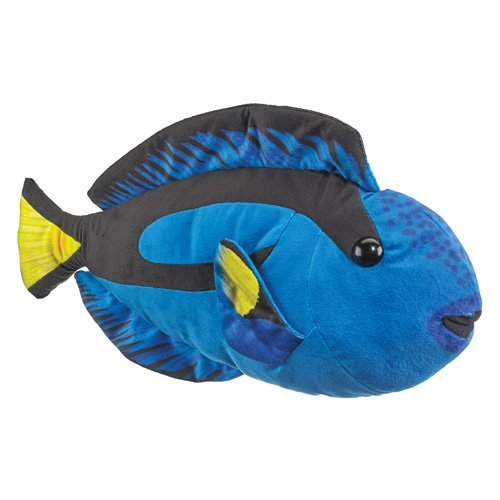 Wildlife Artists Blue Tang Fish Large Plush Toy 20 L by