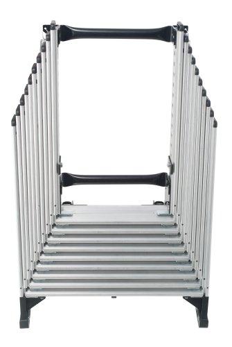 werner aa10 250pound duty rating televator aluminum universal telescoping attic ladder 10foot amazoncom