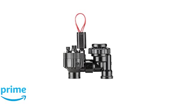 Hunter Sprinkler PGV100MBDC PGV Series 1-Inch Globe Male by Barb Valve without Flow Control and with DC Latching Solenoid Standard Plumbing Supply-LG