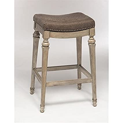 Phenomenal Amazon Com Bowery Hill 30 Backless Bar Stool In Weathered Ncnpc Chair Design For Home Ncnpcorg