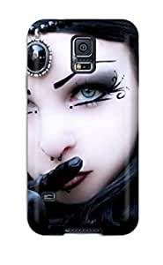 For Galaxy S5 Protector Case Goth Girl Phone Cover
