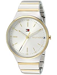 Tommy Hilfiger Women's 'Sophisticated Sport' Quartz and Gold Stainless-Steel Casual Watch, Color Two Tone