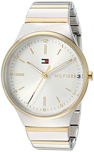 's Sophisticated Sport Quartz Watch with Gold-Tone-Stainless-Steel Strap, Two, 18 (Model: 1781800) ()