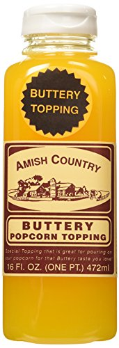 Amish Country Buttery Popcorn Topping 16oz (Buttery Popcorn compare prices)