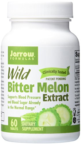 Jarrow Formulas Wild Bitter Melon Extract  Supports Blood Pressure And Blood Sugar Already In The Normal Range  60 Tabs