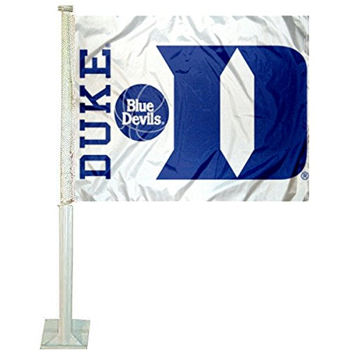 Duke Blue Devils NEW Logo NCAA Car Flag