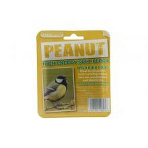 Unipet Suet To Go Peanut Block In Tray For Birds (One Size) (May Vary)