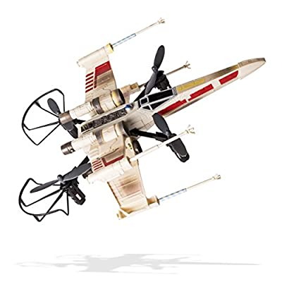 Air Hogs - Star Wars X-wing vs. Death Star, Rebel Assault - RC Drones: Toys & Games