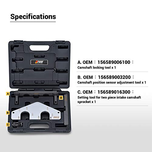 EWK Camshaft Crankshaft Alignment Timing Chain Tool for