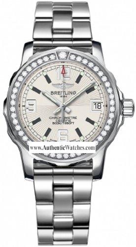 Breitling Aeromarine Colt 33MM Ladies Watch A7738753/G744