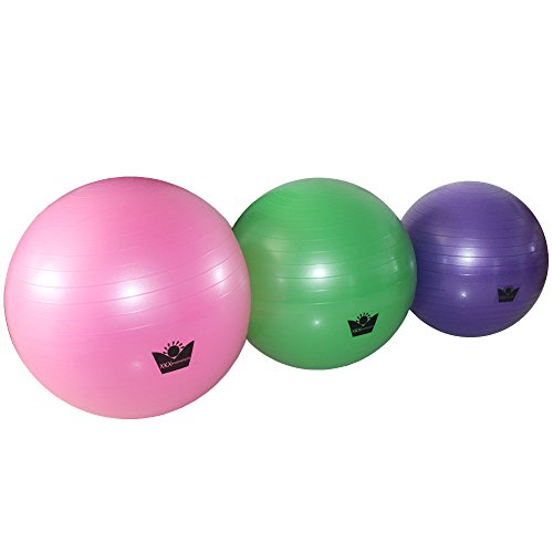 XKX Balance/Yoga/Fitness Ball With Foot Pump,Multiple Colors And Sizes Are Optional