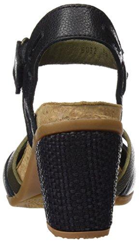 El Naturalista Donna N5032 Tacco Morbido Mola Tacchi Alti Con Punta Chiusa Nero (nero)