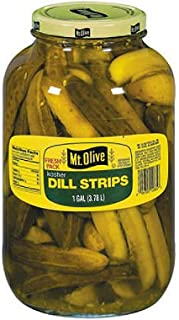 product image for Mt. Olive Kosher Dill Strips - 1 gal. jar