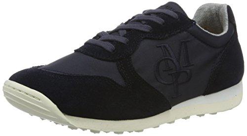 Marc O'Polo 70113913501604 Sneaker - Zapatillas Mujer Azul (Dark Blue)