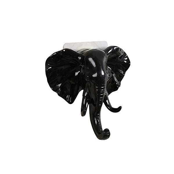 Hanger Animal shaped Coat Hat Hook ONE Elephant Head Single Wall Hook
