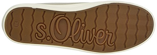 Beige s Oliver para Zapatillas Mujer Champagner 23622 qXaqn4