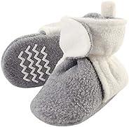 Hudson baby Baby Boys' Cozy Fleece Booties Slipper