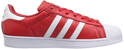 Blanc Rouge De Chaussures Adidas Les Superstar Coquelicot Sport Hommes w8gxSq7