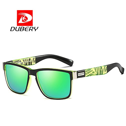 a798b449469a DUBERY 8 Colors Men s Polarized Sport Sunglasses Outdoor Riding Fishing  Summer Driving Travel Goggles (