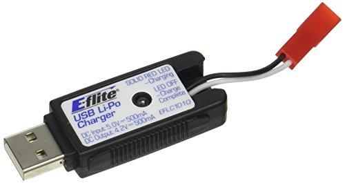 Price comparison product image E-flite 1S USB Li-Po Charger 500mA JST: 180 QX HD